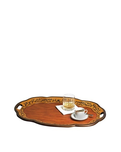 Dessau Home Oval Wood Tray
