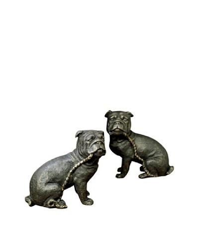 Dessau Home Pair of Bulldog Bookends