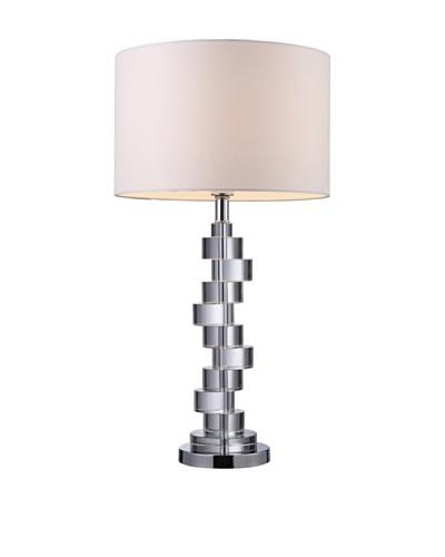 Dimond Lighting Armagh Table Lamp, Crystal/Chrome