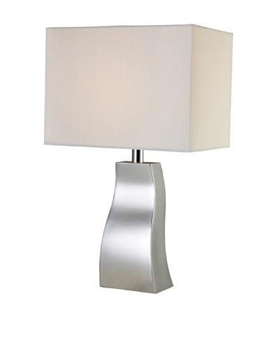 Dimond Lighting Keyser Table Lamp, Chrome