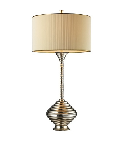 Dimond Lighting Collingdale Table Lamp, Clement Silver
