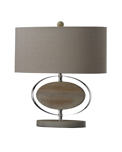 Dimond Lighting Hereford Washed Wood Table Lamp