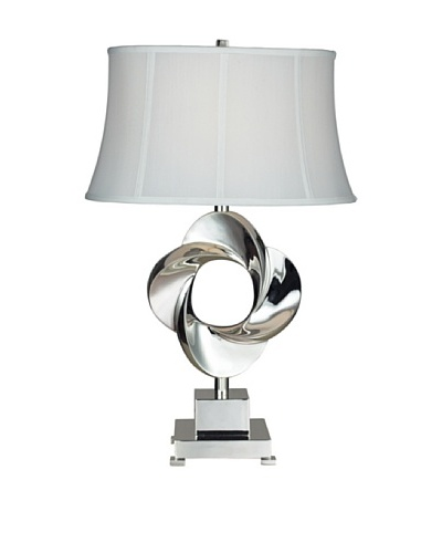 Dimond Lighting Burnham Table Lamp, Chrome