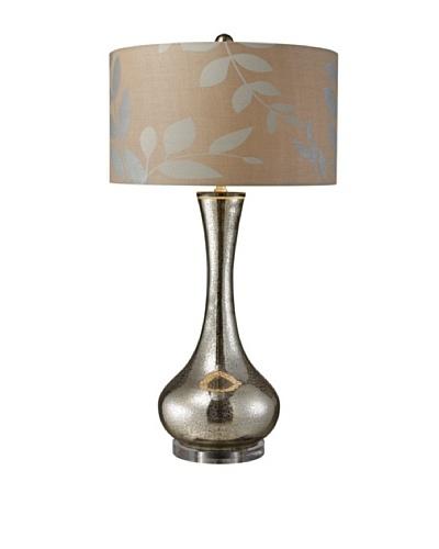 Dimond Lighting Orion Table Lamp, Antique Mercury/Cream