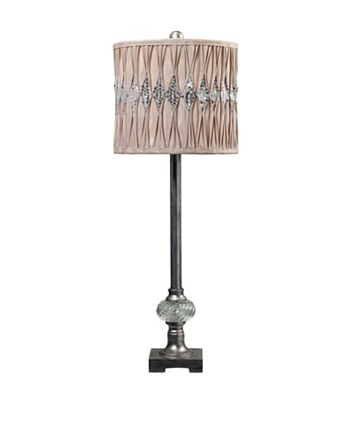Bayview Manor Sequin Shade Buffet Lamp