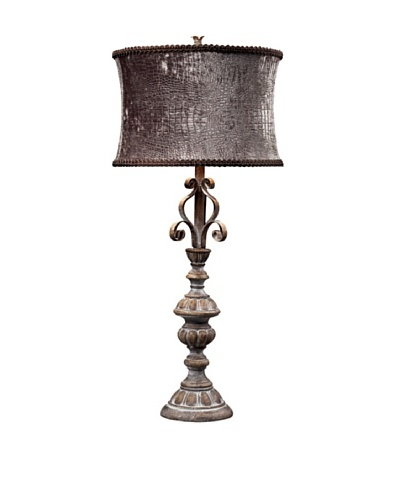 Ralston Distressed Table Lamp, Newbury