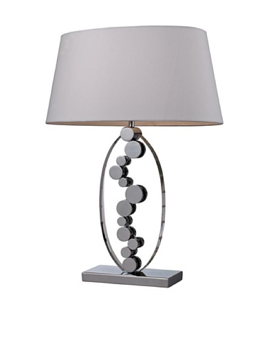 Dimond Lighting Sidney Crystal Table Lamp with Chrome AccentsAs You See