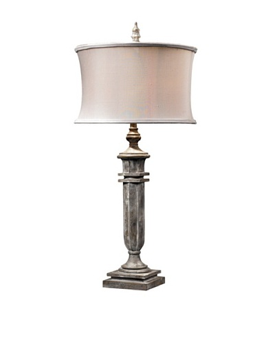 O'Neil Distressed Table Lamp, Restoration Grey