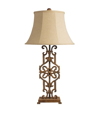 Iron Relic Table Lamp, Albion Bronze