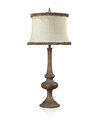 Dimond Lighting Dawn Hill Carmel Wood Finish Table Lamp