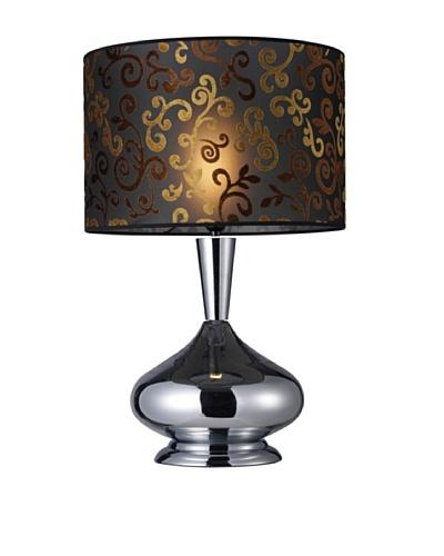 Dimond Lighting Avonmore Table Lamp, Chrome