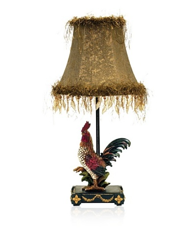 Sterling Home 7-208 Petite Rooster Table Lamp