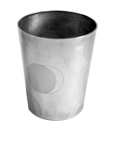Dior Small Circles Silver-Plated Tumbler