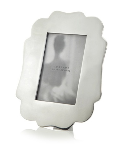 Lunares 4 x 6 Chantilly Picture Frame, Silver