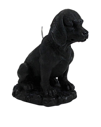 D.L. & Co. Beagle Candle, Black