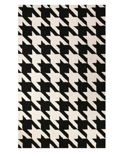 D.L. Rhein Houndstooth Rug [Black/White]