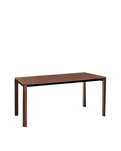 Domitalia Universe Rectangular Table, Walnut