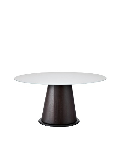 Domitalia Palio Round Table, Wenge/White