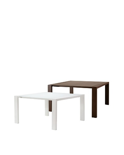Domitalia Fashion-Q Square Table, WengeAs You See