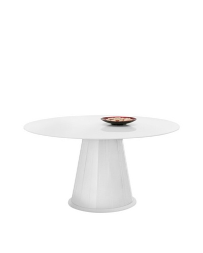 Domitalia Palio Round Table, White
