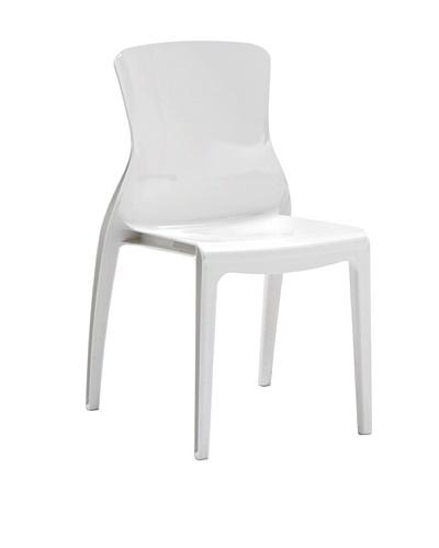 Domitalia Crystal Chair, White