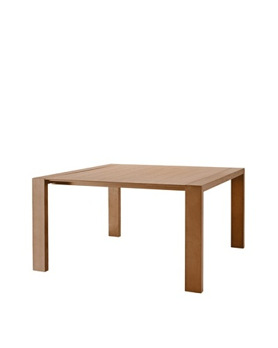 Domitalia Fashion-Q Square Table, Walnut
