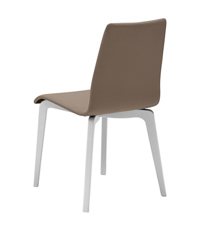 Domitalia Jude-L Chairs, Taupe/WhiteAs You See