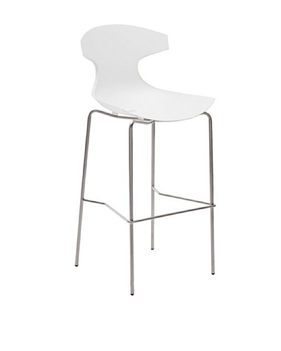 Domitalia Echo Stool, White
