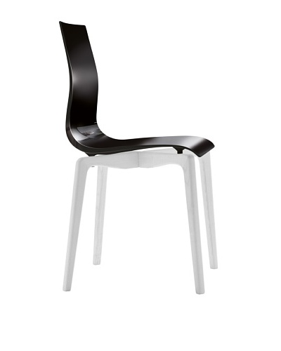 Domitalia Gel-L Chair, Black/White