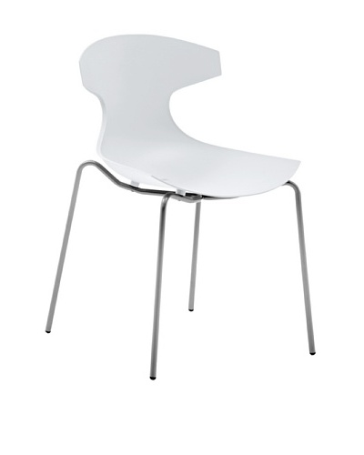 Domitalia Echo Chair, WhiteAs You See