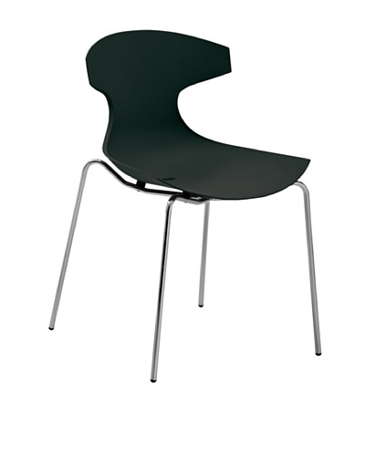 DOMITALIA Echo Chair, Black