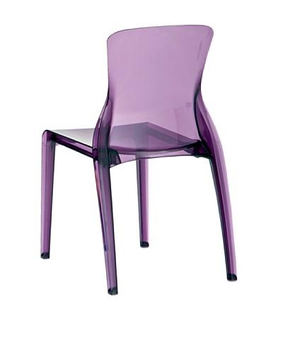 DOMITALIA Crystal Chair, Purple