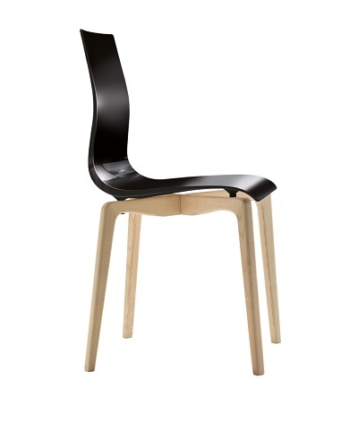 Domitalia Gel-L Chair, Black/Ash White