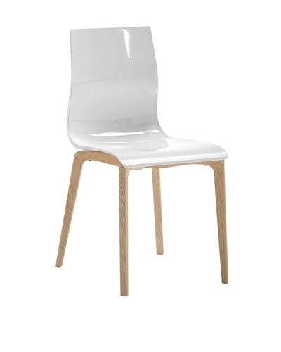 Domitalia Gel-L Chair, White/Ash White