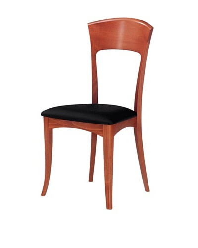 Domitalia Giusy Chair, Light Cherry/Black