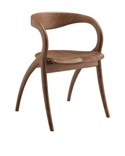 Domitalia Star Beechwood Chair, Walnut