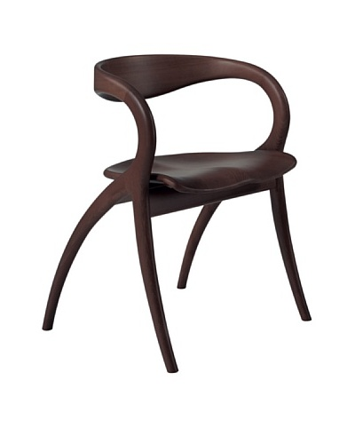 Domitalia Star Beechwood Chair, Wenge