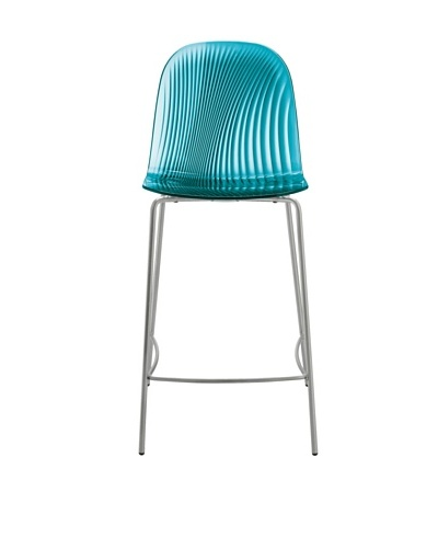 Domitalia Playa Counter Stool, TurquoiseAs You See