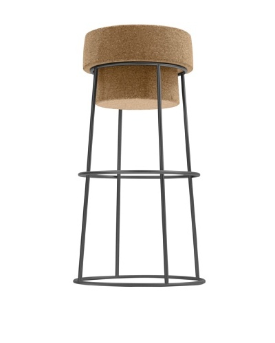 Domitalia Bouchon Counter Stool, Graphite
