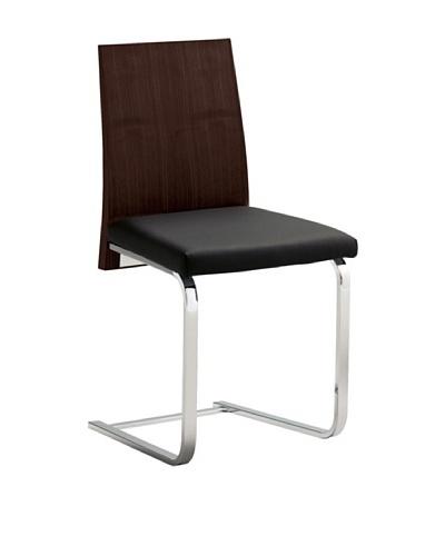 Domitalia Jeff Chair, Black/Wenge