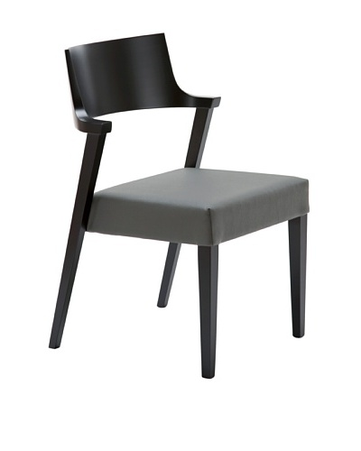 Domitalia Lirica Chair, Grey/Black