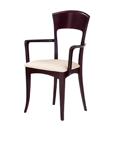 Domitalia Giusy Armchair, Wenge/Grey