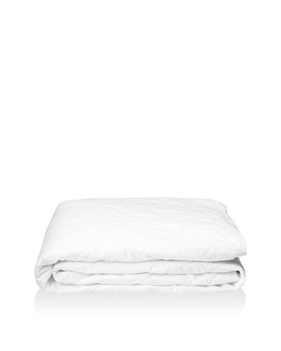 Downright White Goose Down Box Quilted Mattress Pad
