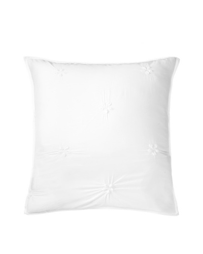 DownTown Co. Metropolitan Euro Sham, White