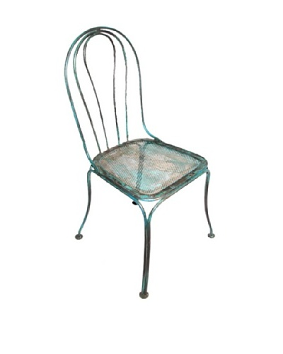 Dream Home Designs French Iron Side Chair