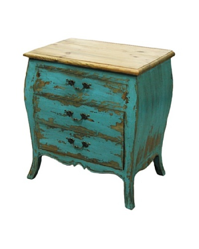 Dream Home Designs Nora Blue Night Stand