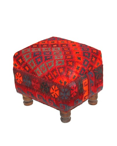 Dream Home Designs Kilim Swat Stool, Assorted