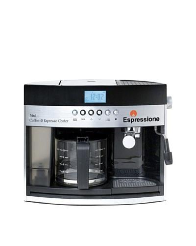 Espressione 3-in-1 Programmable Coffee and Espresso Maker, Silver