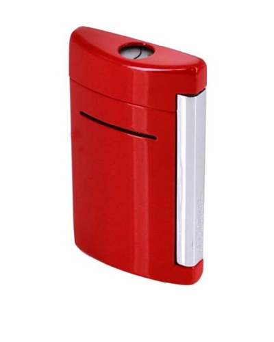 DuPont Lighters Lacquer and Chrome Lighter Excluding Lighter Fluid, Red