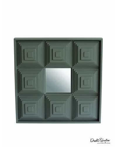 Dwell Studio by Global Views Pyramid Mirror, Grey
